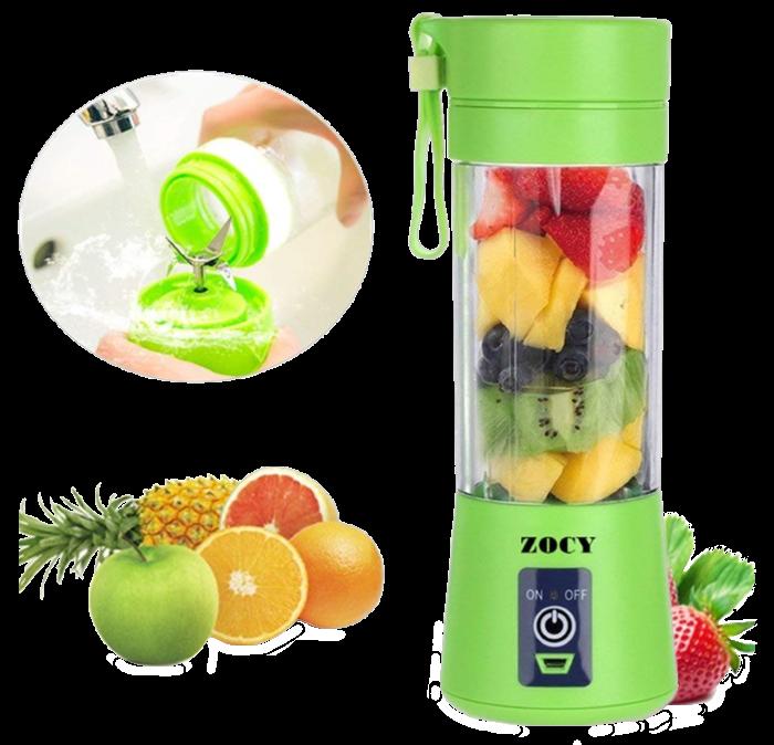 Блендер Smart Juice Cup Fruits USB 4 ножа - Фитнес-блендер портативный для смузи и коктейлей Топ