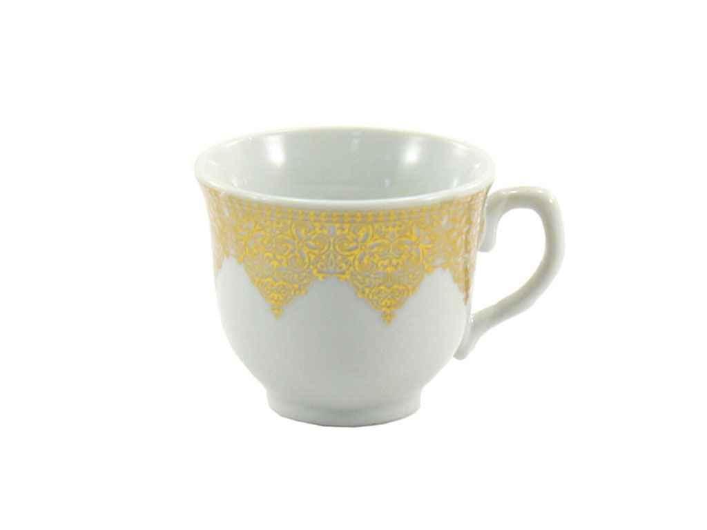 Чашка фарфорова 90мл кавова золото SH3 ТЕХ / УПАК ТМ INTEROS
