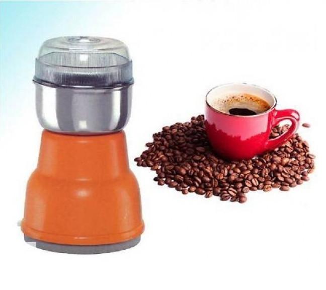 Электрическая Кофемолка Domotec KP-125 - Электроимпульсная кофемолка 180Вт из нержавеющей стали Топ