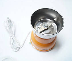 Электрическая Кофемолка Domotec KP-125 - Электроимпульсная кофемолка 180Вт из нержавеющей стали Топ, фото 2