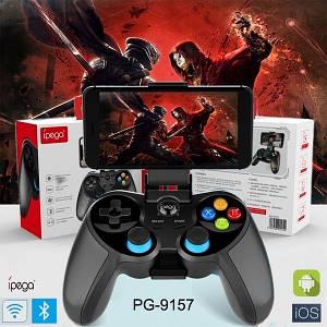 Джойстик безпровідний IPEGA PG-9157 Black - ігровий джойстик (геймпад) для телефону IOS, Android
