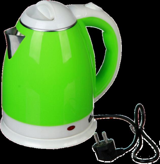 Электрочайник DOMOTEC MS-5025C - Чайник электрический 2.0 л 220V/1500W Зеленый Топ