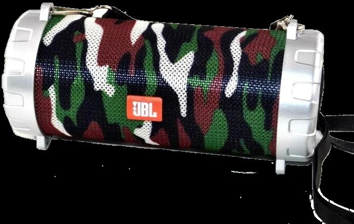 Портативная колонка JBL S07 - мобильная bluetooth колонка cо светомузыкой, FM радио, MP3 плеер (Хаки) Топ