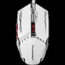 Игровая мышь с подсветкой Zornwee GX20 Белая Топ, фото 3