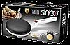 Млинниця Sinbo SP 5208 Crepe Maker - заглибна электроблинница з антипригарним покриттям і тарілкою Топ, фото 5