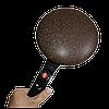Млинниця Sinbo SP 5208 Crepe Maker - заглибна электроблинница з антипригарним покриттям і тарілкою Топ, фото 6