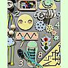 Розвиваюча дошка розмір 50*60 Бизиборд для дітей 43 елемента! Топ, фото 2