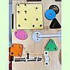 Бизикуб 24*24*24 на 30 елементів - розвиваючий будиночок, бизиборд, бизидом, бизикубик + ВІДЕООГЛЯД! Топ, фото 6