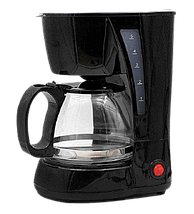 Кавоварка з чайником Rainberg RB-606 (0,6 л, 650 Вт) - Крапельна кавоварка на 4 порції Топ, фото 2
