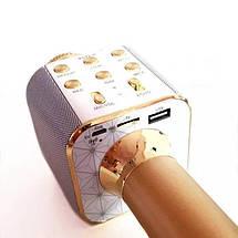 Микрофон караоке WSTER WS-1688 - беспроводной Bluetooth микрофон с 5 тембрами голоса Топ, фото 3