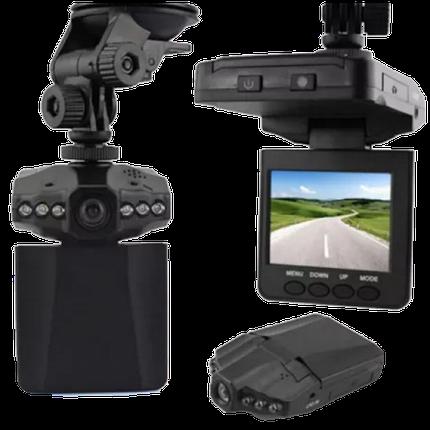 Автомобильный видеорегистратор HD DVR 198 2.5 lcd - авторегистратор со звуком и ночной съемкой Топ, фото 2