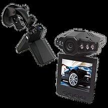 Автомобильный видеорегистратор HD DVR 198 2.5 lcd - авторегистратор со звуком и ночной съемкой Топ, фото 3