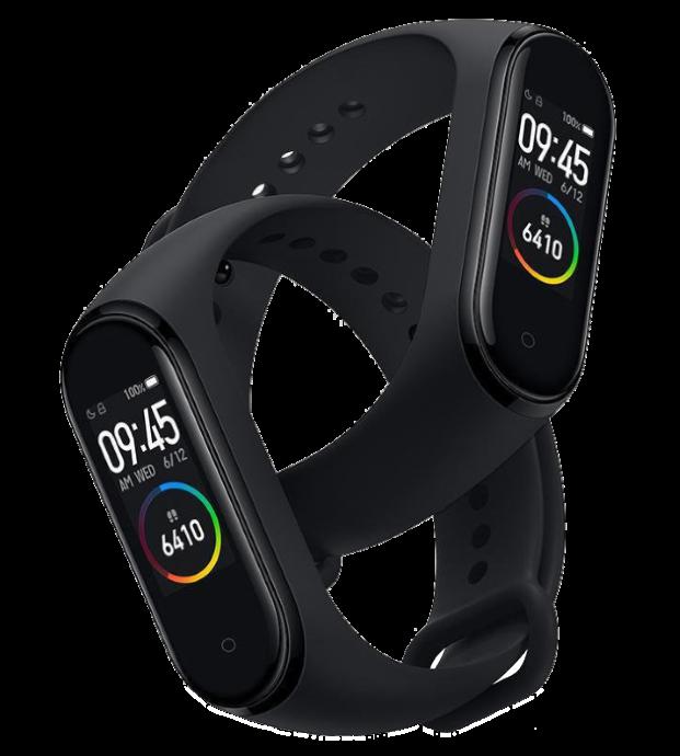 Фітнес браслет Smart Watch M4 - фітнес трекер, смарт браслет, пульсометр Чорний (репліка) Топ