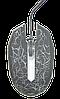 Ігрова комп'ютерна миша Zeus M-110 - провідна USB мишка з підсвічуванням Чорна Топ, фото 2