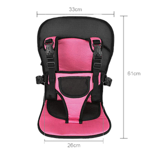 Безкаркасне дитяче автокрісло Multi Function Car Cushion (Pink) Топ