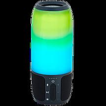 Портативная колонка JBL Pulse 3 Big - bluetooth колонка cо светомузыкой, FM радио, MP3 плеер (реплика) Топ, фото 3