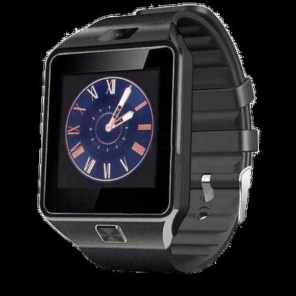 Умные часы Smart Watch DZ-09 Black - смарт часы под SIM-карту и SD карту (Черные) Топ, фото 2