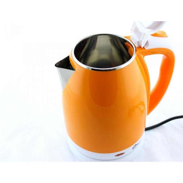 Электрочайник MS-5022 Оранжевый 2л/1500W - Чайник электрический из нержавеющей стали Топ