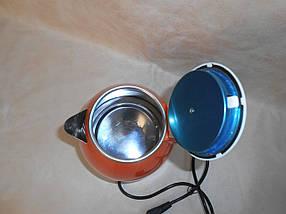 Электрочайник MS-5022 Оранжевый 2л/1500W - Чайник электрический из нержавеющей стали Топ, фото 2