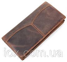 Бумажник мужской Vintage 14223 Коричневый