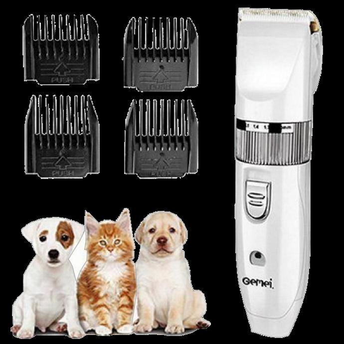 Машинка для стрижки животных Gemei GM-634 USB - Профессиональная машинка для стрижки собак и кошек Топ