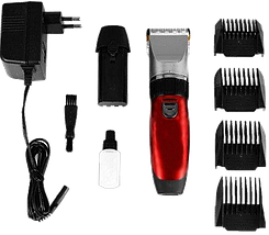 Машинка для стрижки Gemei GM-6001 - Бездротова акумуляторна машинка, тример, бритва Топ, фото 2