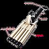Плойка для волос Gemei GM-2933 Пять волн - щипцы для завивки волос Топ, фото 2