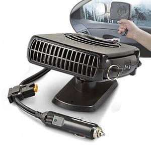 Дуйка автомобільна CAR FAN CF-703 - Портативний автомобільний обігрівач салону від прикурювача, автодуйка