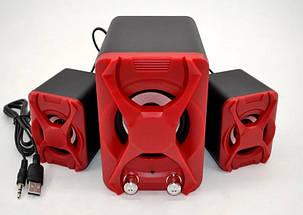 Колонки для компьютера 2.1 SPS YD XS - акустические колонки с сабвуфером, колонки для ноутбука, колонки для ПК, фото 2
