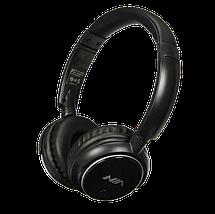 Бездротові навушники NIA-Q1 4-в-1 - Bluetooth-навушники з MP3 плеєром, FM радіо, гарнітура Топ, фото 3