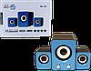 Колонки для компьютера 2.1 IS-12 - акустические компьютерные колонки, колонки для ноутбука, колонки для ПК Топ, фото 5