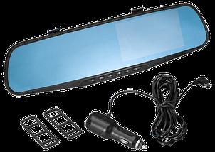 """Автомобільний відеореєстратор DVR-138W FullHD 1080p 4,3"""" - відеореєстратор дзеркало заднього виду (2 камери), фото 3"""