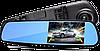 """Автомобільний відеореєстратор DVR-138W FullHD 1080p 4,3"""" - відеореєстратор дзеркало заднього виду (2 камери), фото 5"""