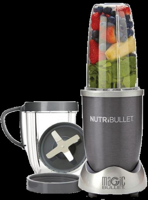 Кухонный комбайн NutriBullet 600 Вт - мощный стационарный блендер, соковыжималка, измельчитель НутриБуллет Топ