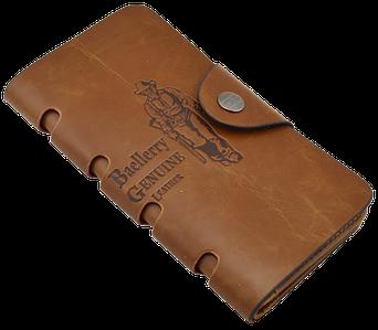 Клатч чоловічий гаманець портмоне барсетка Baellerry Genuine Leather COK10 Топ