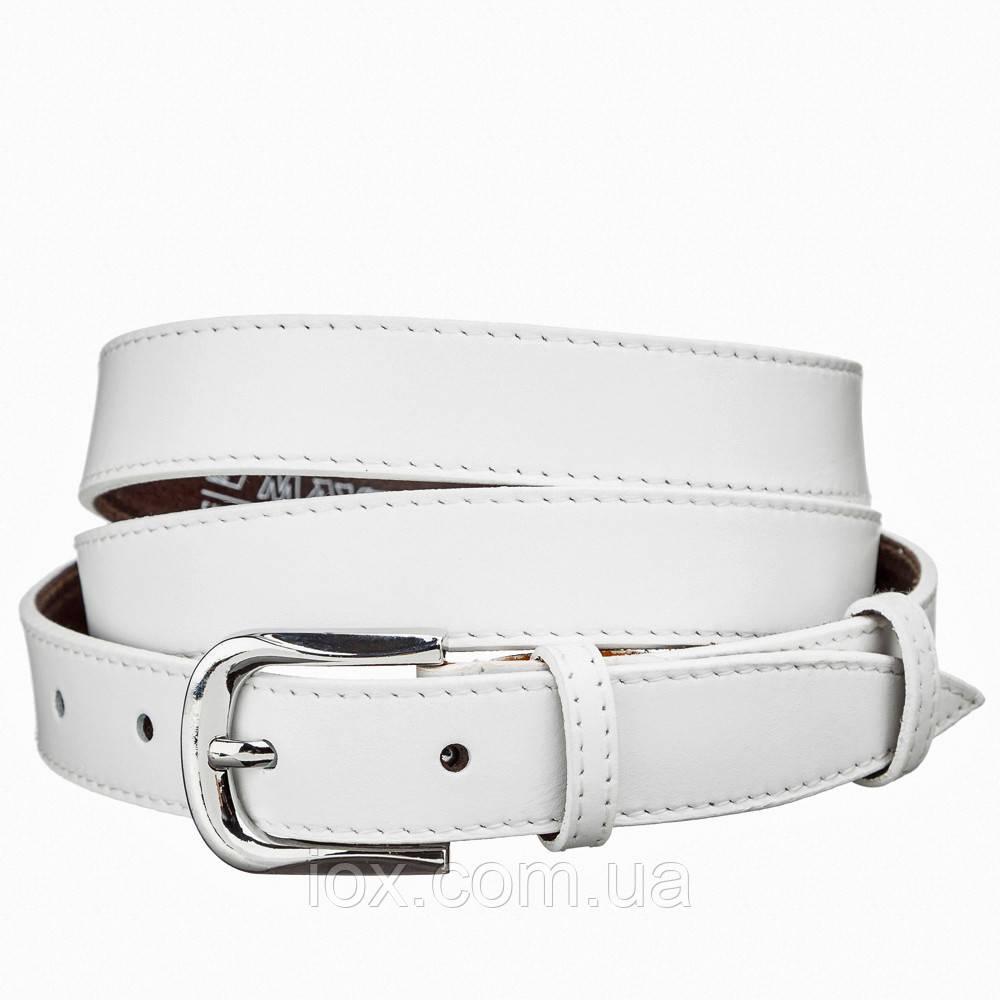Ремень кожаный MAYBIK 15231 Белый