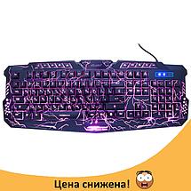 Игровая клавиатура с подсветкой молния Atlanfa M200L - Проводная клавиатура Razer с тремя режимами подсветки, фото 2