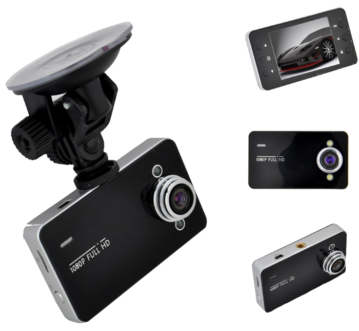 Автомобільний відеореєстратор DVR K6000 Full HD 1080 P Топ