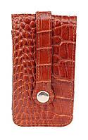 Удобная ключница из кожи под крокодила SHVIGEL 16145, фото 1