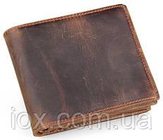 Кошелек мужской Vintage 14222 в винтажном стиле Коричневый