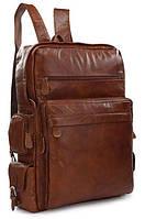 Рюкзак Vintage 14156 из кожи Коричневый, фото 1