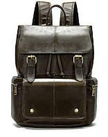 Рюкзак Vintage 14668 кожаный Коричневый