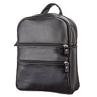 Рюкзак женский SHVIGEL 15304 кожаный Черный