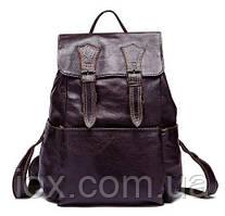 Рюкзак из натуральной кожи Vintage 14874 Серо-коричневый