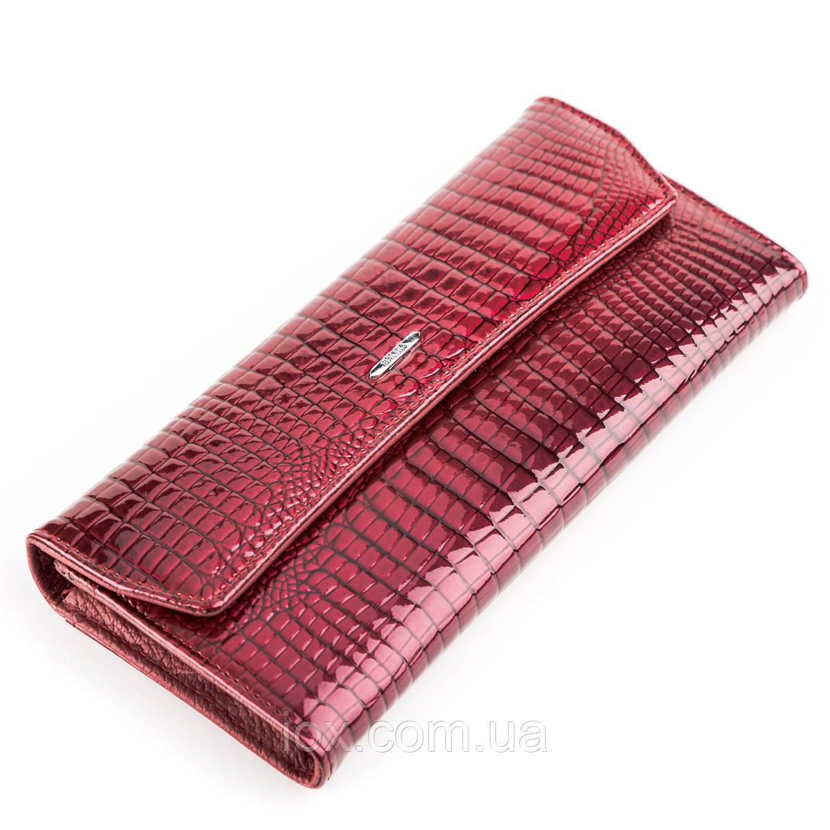 Кошелек женский BALISA 13860 кожаный Бордовый