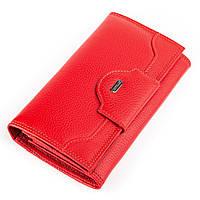 Кошелек женский CANPELLINI 17046 кожаный Красный, фото 1