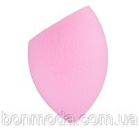 Спонж скошенный, розовый Bless Beauty PUFF Make Up Sponge