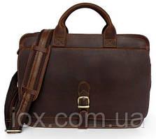 Сумка мужская Vintage 14221 Коричневая