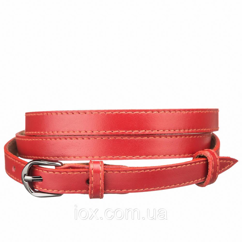 Пояс кожаный MAYBIK 15238 Красный