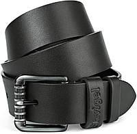 Ремень SHVIGEL джинсовый 11023 Черный, фото 1